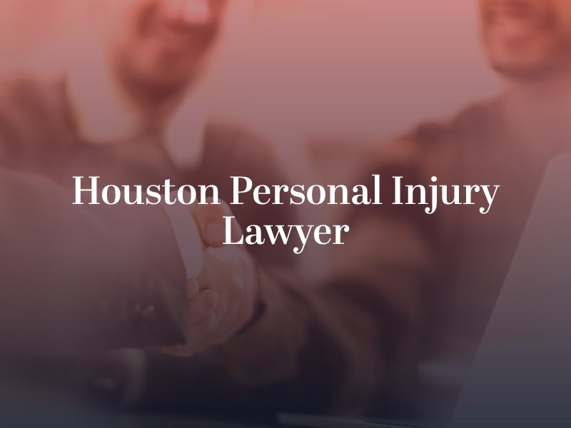 Handshake with a Houston Personal Injury Lawyer