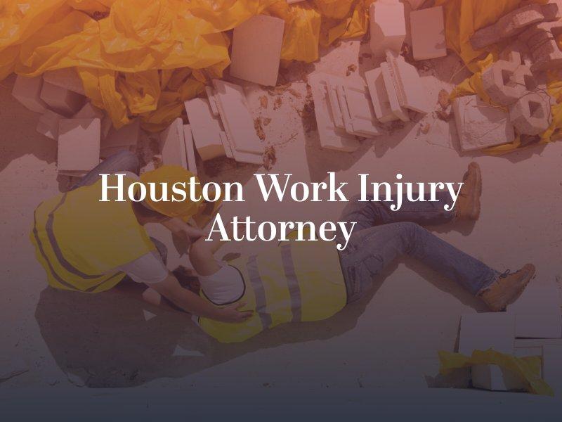 Houston Work Injury Attorney