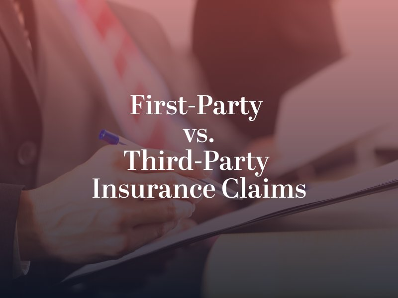 First-Party versus Third-Party Insurance Claims